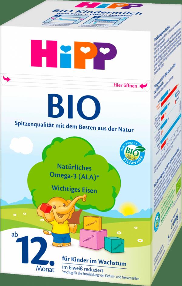hipp-bio-600g-mleko-od-12-miesiąca-dla-dzieci-niemieckie