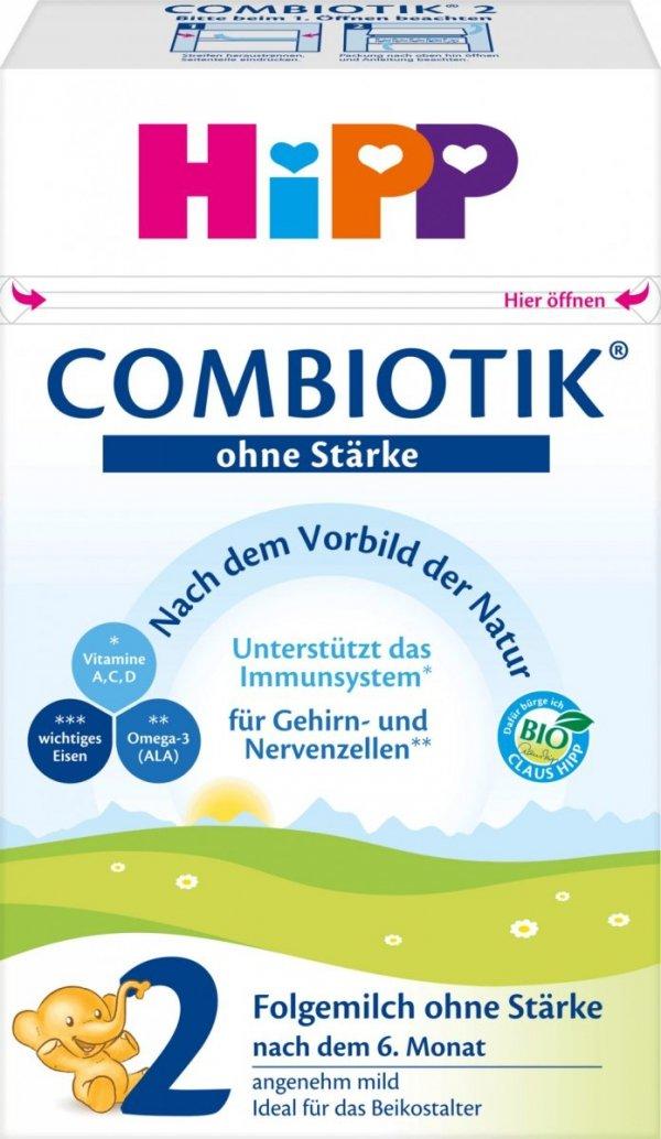 hipp-bio-2-combiotik-600g-mleko-bez-skrobii-6m-niemieckie