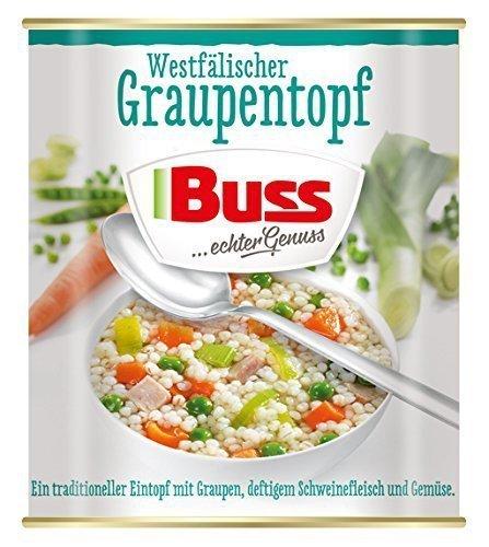 Buss Gotowe Gulasz Wieprzowy Z Kaszą Warzywami