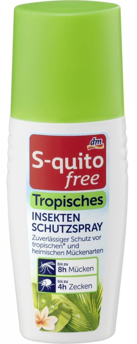 S-quito Spray Komary Kleszcze Tropikalne do 8h