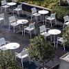 Nowoczesne krzesła do ogrodu i na taras Pedrali