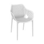 Designerskie, wygodne krzesło Air XL z tworzywa Siesta