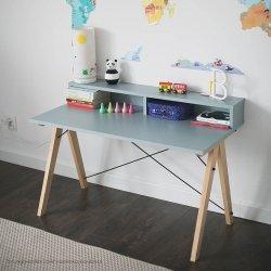 Biurko dziecięce Kids slim+ z nadstawką