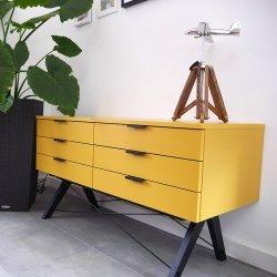 Szafka Sideboard Basic z 6 szufladami