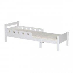 Łóżko rozsuwane Junior Flexa White Białe