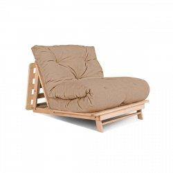 Layti 90 futon Sofa rozkładana - beżowa Woodman