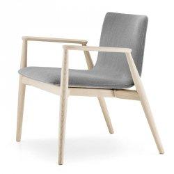 Fotel Drewniany Tapicerowany Malmo 296 Pedrali