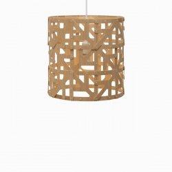 Drewniana lampa wisząca Ulu 40cm