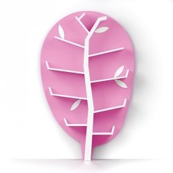 Regał Drzewko WOODShelf Plus Light Line Różowy
