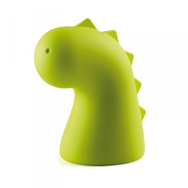 Stylowy zabawny smoczek do każdego wnętrza w kolorze neonowej zieleni