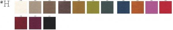 Poduszki do fotela Pasha 660.3 grupa kolorów H