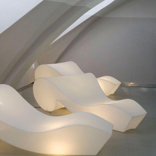 Rococò Leżak z wbudowanym oświetleniem Slide