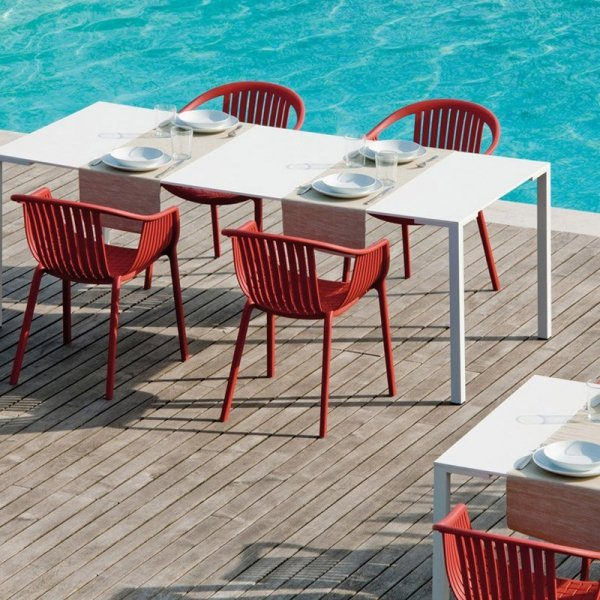 Designerskie krzesłą Tatami 306 do wmętrz i na zewnątrz