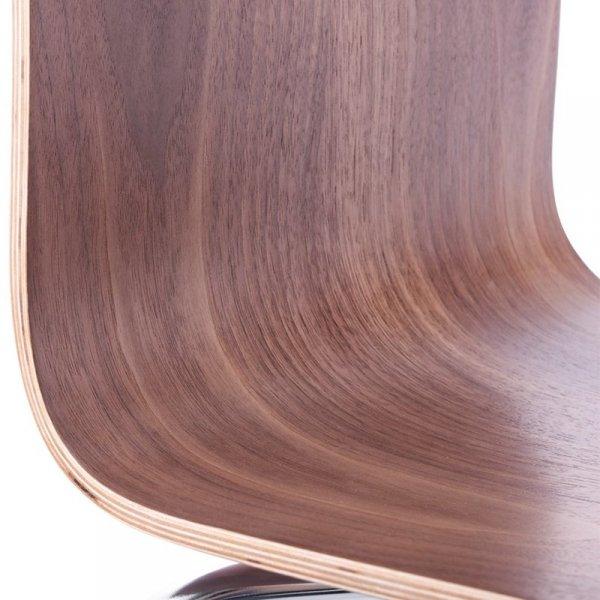 Classic stylowe krzesło do jadalni orzech