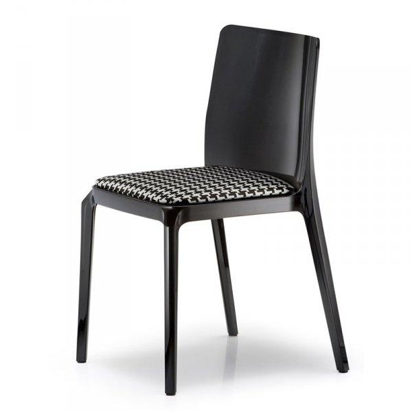 Nowoczesne krzesło do jadalni z poduszką Pedrali Blitz 640
