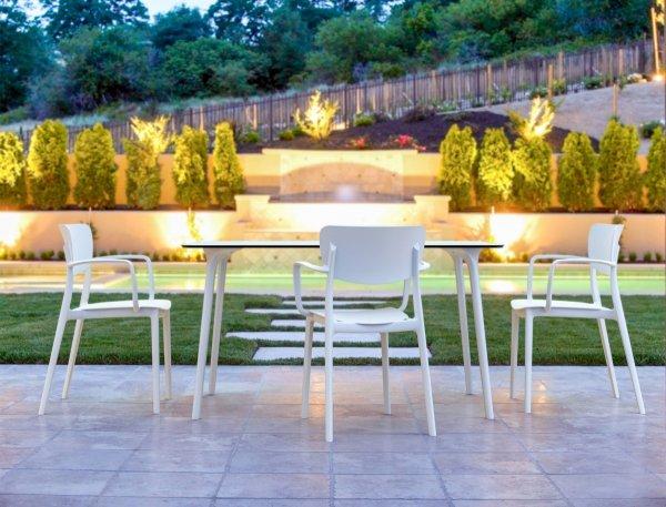 Stół Maya 140 Siesta i krzesło Lisa