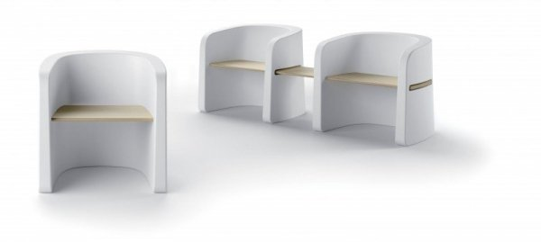 Talea Bench Wood Seating