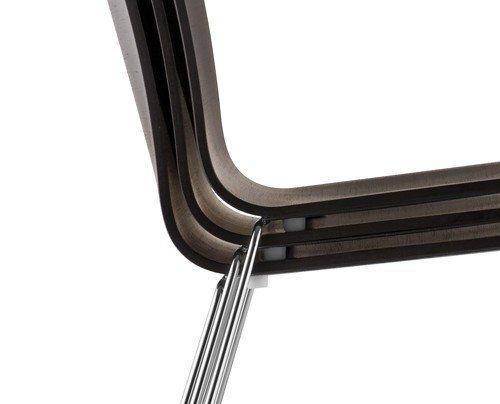 Kuadra 1328 Drewniane Krzesło Pedrali