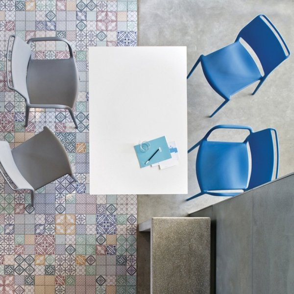 Krzesła ogrodowe z tworzywa Pedrali