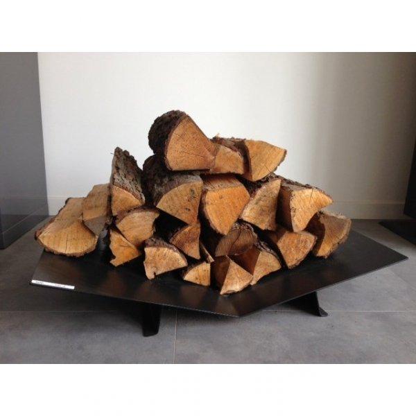 Niska patera na drewno do nowoczesnych wnętrz