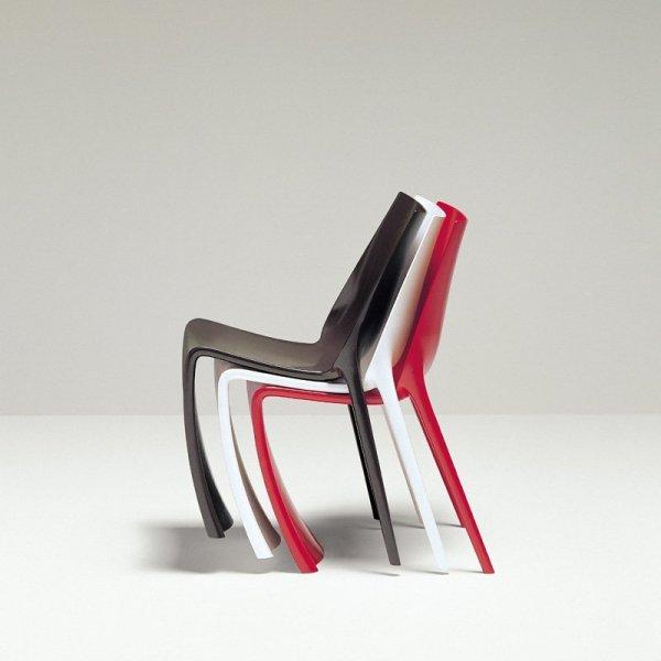 3 piękne, żywe kolory krzeseł Smart 600 Pedrali