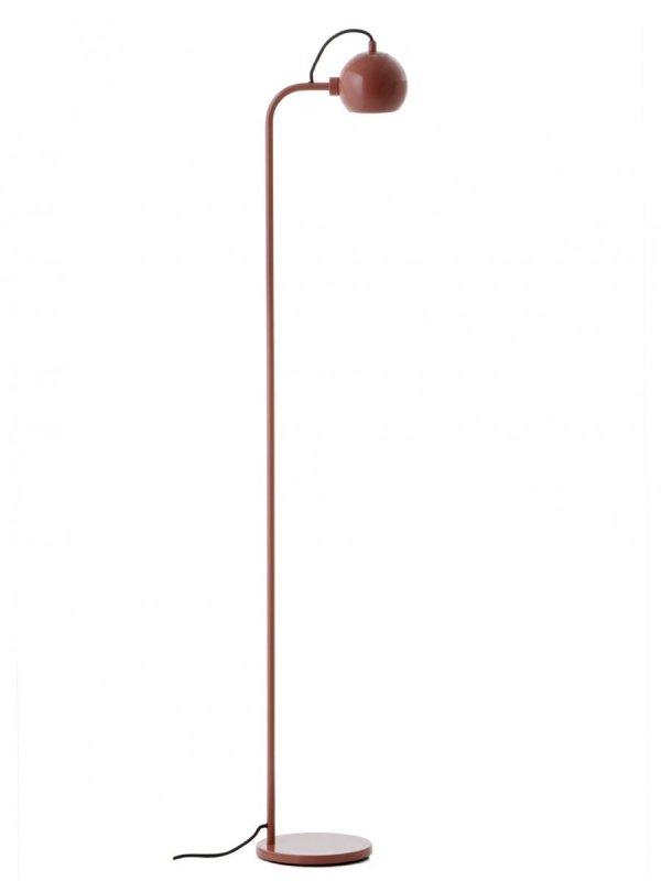 Lampa Stojąca BALL FLOOR Frandsen kolor glossy red
