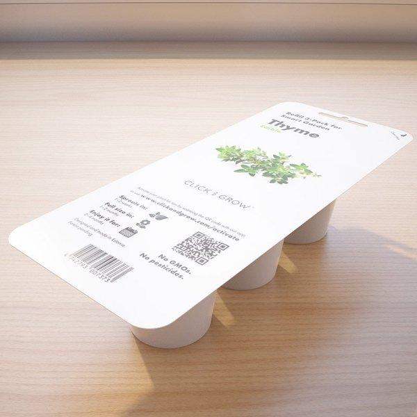 Kapsułki Click and Grow do doniczek Smart Garden to łatwy sposób na zioła w każdej kuchni