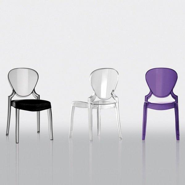Stylowe krzesła Pedrali Queen 65p