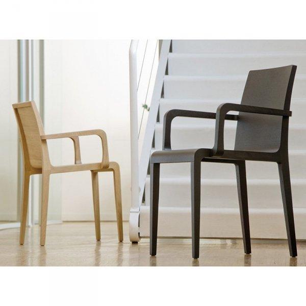 Stylowe krzesła dębowe Pedrali Young 425