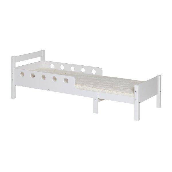 Stylowe łóżko do pokoju dziecięcego Junior White Flexa