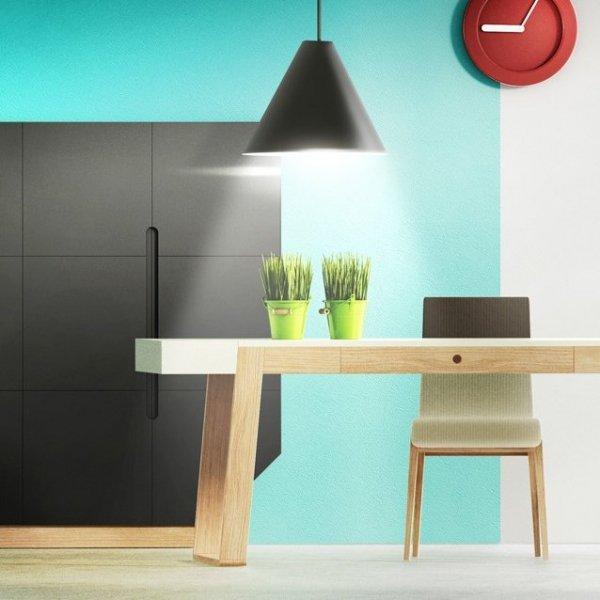 Stół Magh średni, idealny stół do posiłków, pracy, odrabiania lekcji, hobby