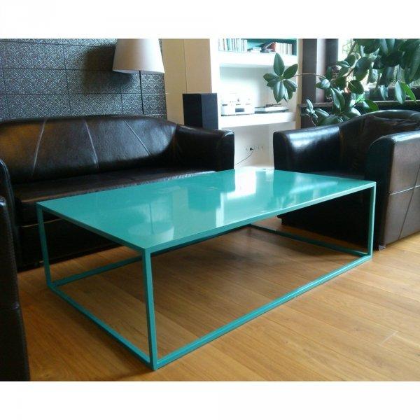 Piękny, industrialny stół do wnętrz i na zewnątrz