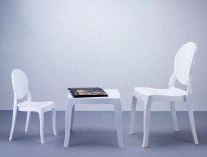Stolik Queen Siesta biały