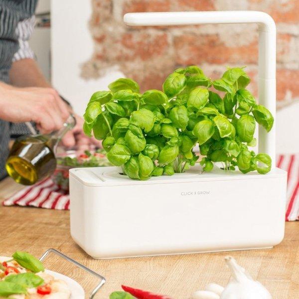Kapsułki Click and Grow pozwolą ci na zmianę roślinek w inteligentnej grządce Smart Garden