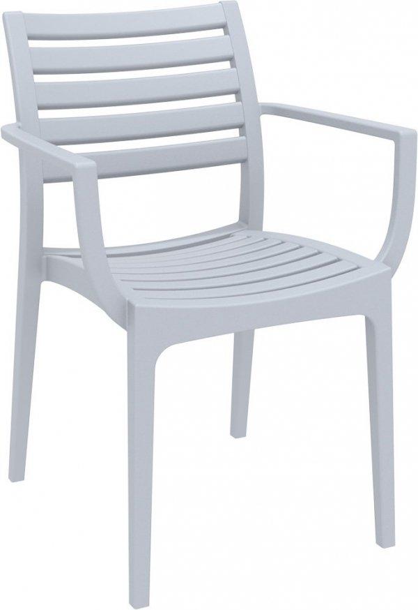 Krzesło Artemis Siesta jasny szary