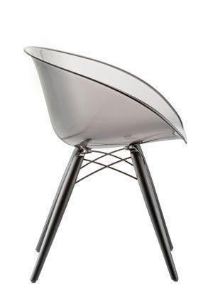 Designerskie transparentne krzesło Pedrali Gliss 905