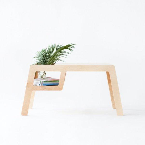 Mały przenośny stolik ze sklejki Flex
