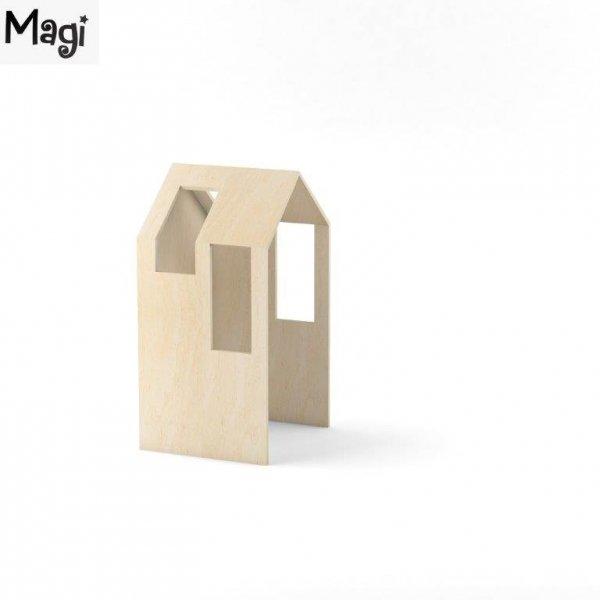 Domek stanowi doskonałe uzupełnienie do łóżeczka Magi