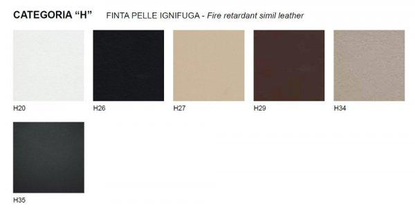 Ester 690 tapicerowany fotel Pedrali tekstylia