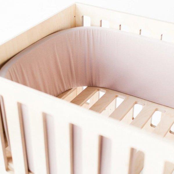 Łóżeczko Dream 3w1 Nuki jest idealne dla dzieci do 6 roku życia