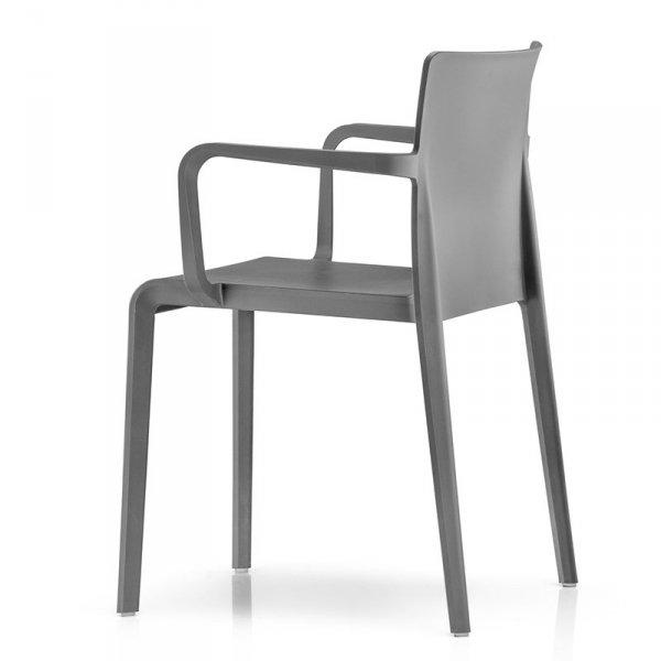 Krzesło Volt 675 Pedrali grafitowe