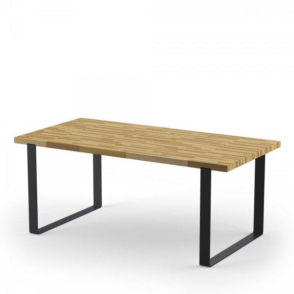 Rodzinny stół Dablin duży o wymiarach 75x90x180 cm