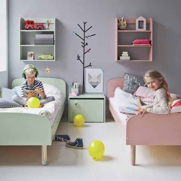 Skrzynia na zabawki z siedziskiem Flexa Play mleczna zieleń
