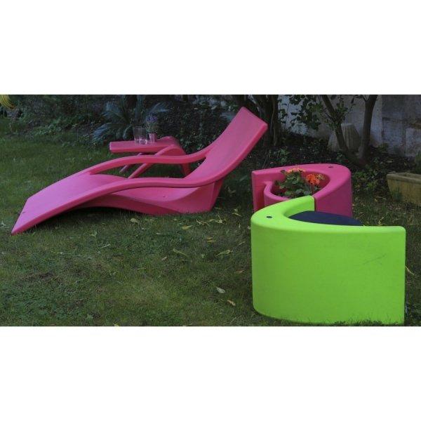 Doniczka - stołek ogrodowy Muse