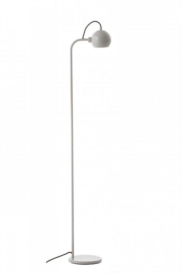 Lampa Stojąca BALL FLOOR Frandsen kolor bladoszary