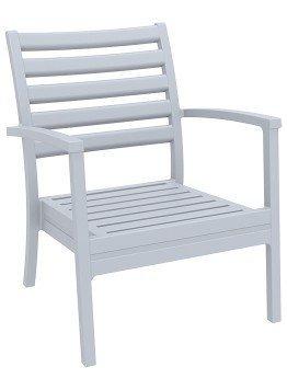 Krzesło Artemis XL Siesta jasno szare
