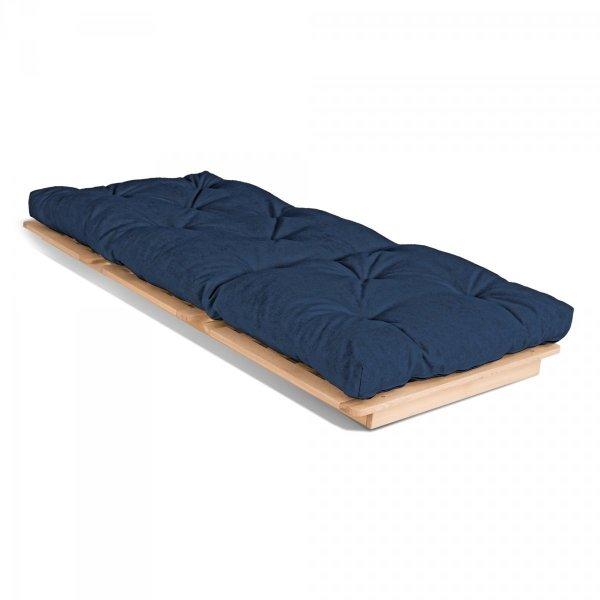 Layti 90 futon Sofa rozkładana - granat Woodman