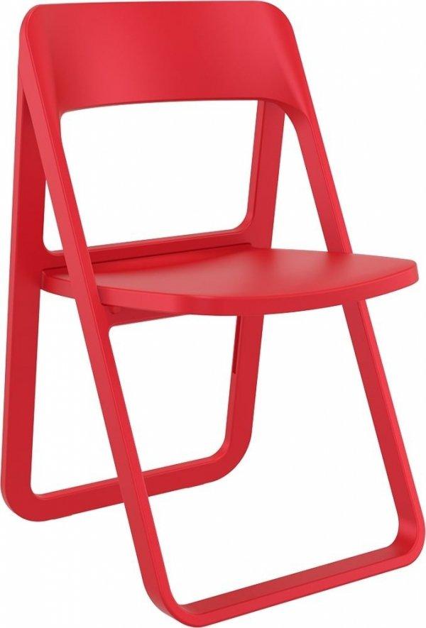składane krzesło Dream Siesta czerwone
