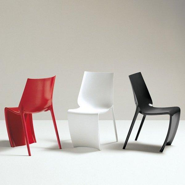 Styloer krzesła w żywych kolorach Smart Pedrali
