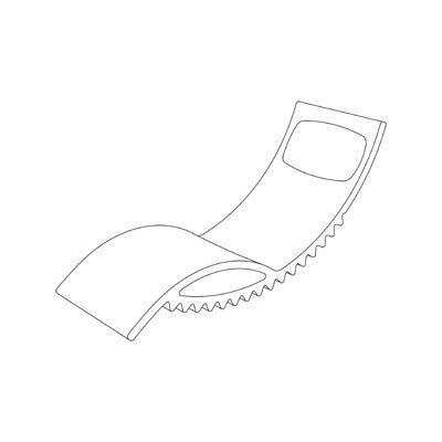 Tic Leżak Slide